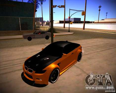 BMW M3 E92 Drift Version for GTA San Andreas