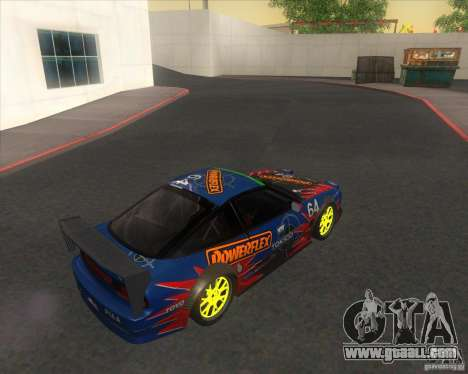 Nissan 240SX for drift for GTA San Andreas left view