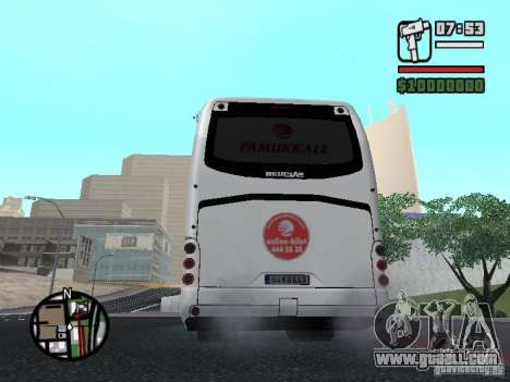 Neoplan Tourliner for GTA San Andreas back left view