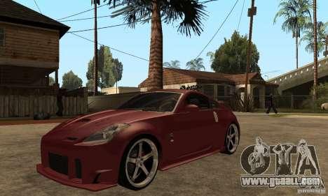 Nissan 350Z JC2 for GTA San Andreas