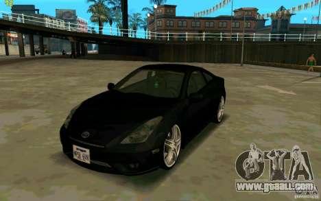 Toyota Celica 2005 for GTA San Andreas