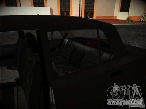 Tofas 124 Serçe for GTA San Andreas inner view