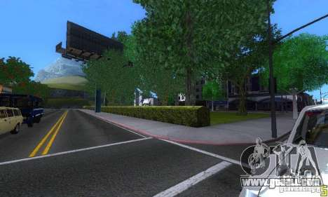 NEW STREET SF MOD for GTA San Andreas ninth screenshot