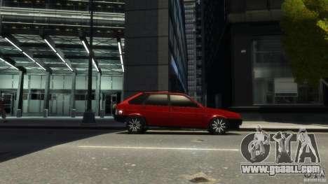 VAZ 2109 light tuning for GTA 4 back left view