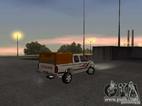 Nissan Pickup for GTA San Andreas right view