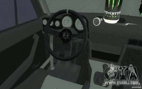 Vaz 2106 Lada Drift Tuned for GTA San Andreas upper view