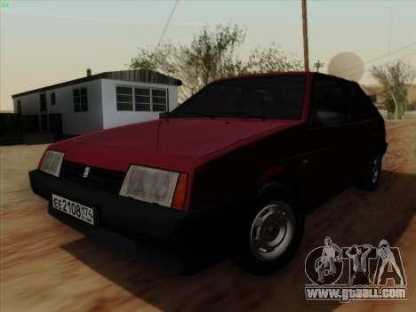 VAZ 21083i for GTA San Andreas