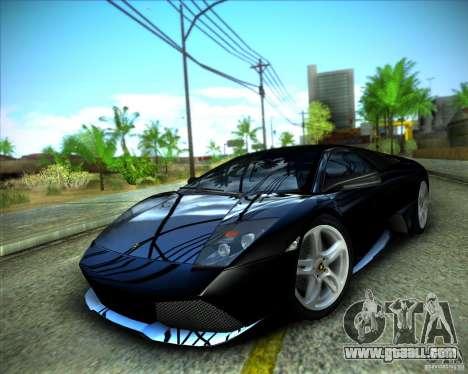 ENBSeries by ibilnaz for GTA San Andreas fifth screenshot