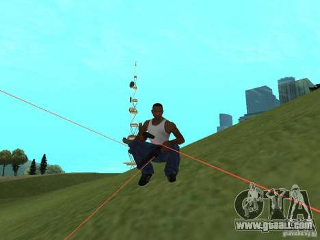 Laser Weapon Pack for GTA San Andreas forth screenshot
