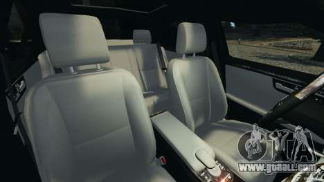 Mercedes-Benz W221 S500 2006 for GTA 4 inner view