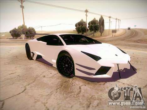 Lamborghini Reventon GT-R for GTA San Andreas right view