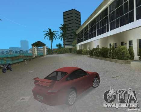 Porsche 911 GT3 for GTA Vice City back left view
