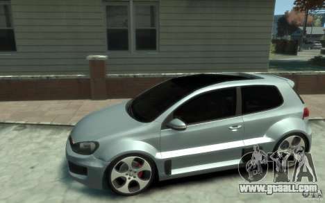 Volkswagen Golf W12-650 for GTA 4 left view