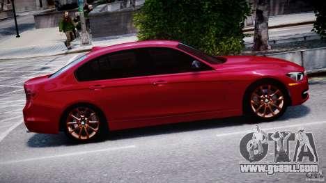 BMW 335i E30 2012 Sport Line v1.0 for GTA 4 side view