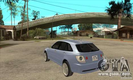 Toyota Alteza Wagon for GTA San Andreas back left view