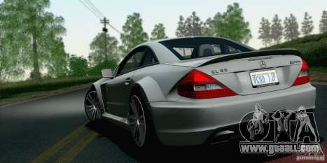Mercedes-Benz SL65 AMG Black Series for GTA San Andreas left view