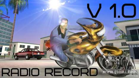 Radio Record by BuTeK for GTA Vice City