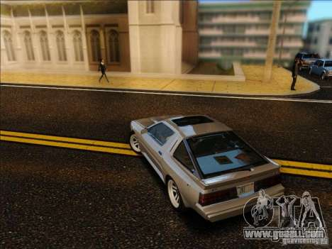 Mitsubishi Starion ESI-R 1986 for GTA San Andreas left view
