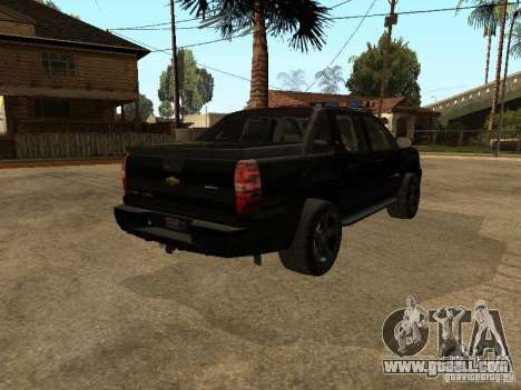 Chevrolet Avalanche Police for GTA San Andreas