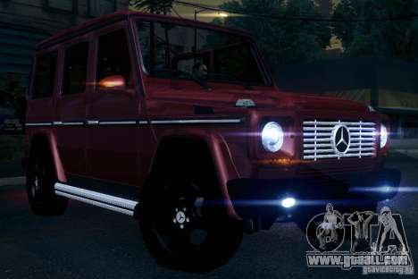 Mercedes-Benz G65 for GTA San Andreas side view