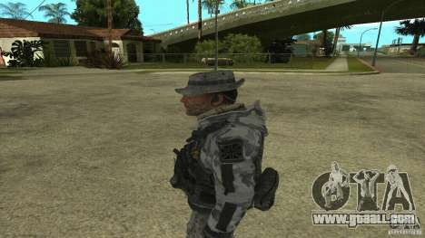 Captain Price for GTA San Andreas second screenshot