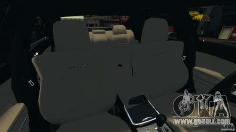 Dodge Charger SRT8 2012 v2.0 for GTA 4 inner view