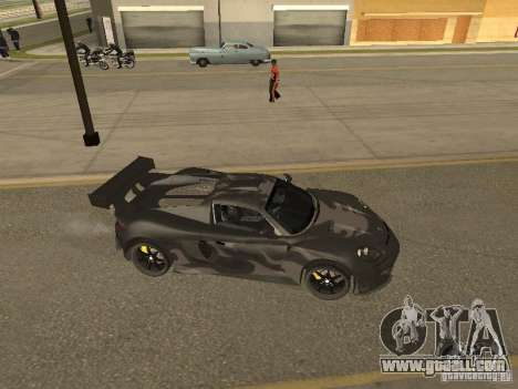 Porsche Carrera GT for GTA San Andreas inner view