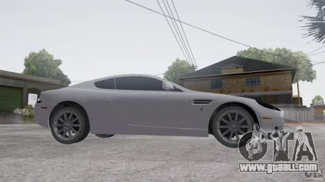 Aston Martin DB9 for GTA San Andreas back view