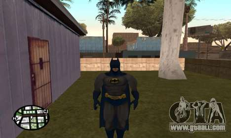 Dark Knight Skin Pack for GTA San Andreas eighth screenshot