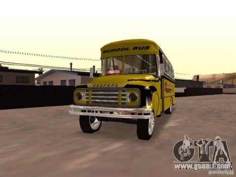 Bedford School Bus for GTA San Andreas