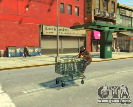Trolley for GTA 4 right view