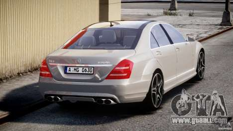 Mercedes-Benz S63 AMG [Final] for GTA 4 side view
