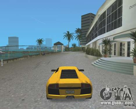 2005 Lamborghini Murcielago for GTA Vice City back left view
