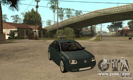 Volkswagen Bora-Golf for GTA San Andreas back view