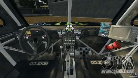 Hummer H3 raid t1 for GTA 4 back view