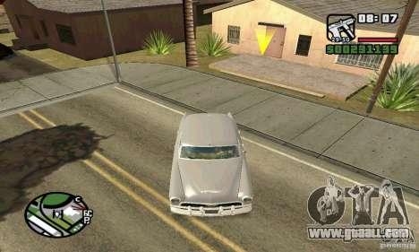 Houstan Wasp (Mafia 2) for GTA San Andreas back view