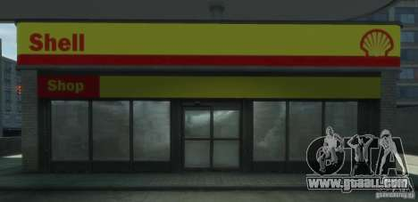 Shell Petrol Station V2 Updated for GTA 4 sixth screenshot
