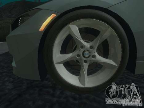 BMW Z4 for GTA San Andreas engine