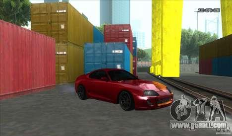 Toyota Supra Stance for GTA San Andreas