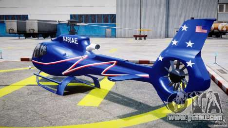 Eurocopter EC130B4 NYC HeliTours REAL for GTA 4 back left view