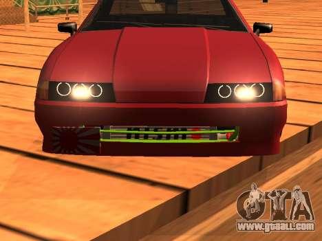 JDM Elegy for GTA San Andreas back left view