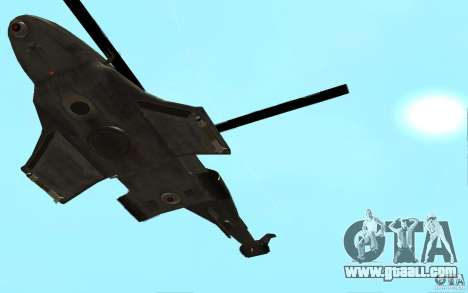 Scout Drone from BO2 for GTA San Andreas right view