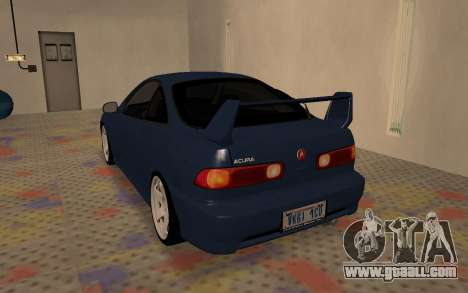 Acura Integra Type R 2000 for GTA San Andreas right view