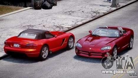 Dodge Viper SRT-10 2003 1.0 for GTA 4 side view