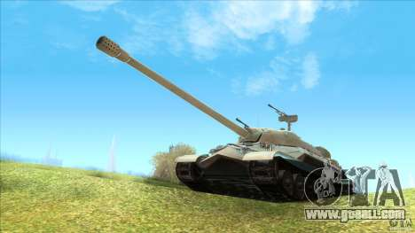IS-7 Heavy Tank for GTA San Andreas left view