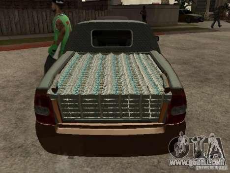 LADA 2170 Pickup for GTA San Andreas side view