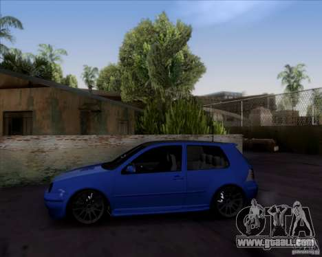 Volkswagen Golf GTi 2003 for GTA San Andreas right view