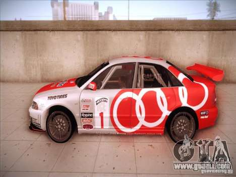 Audi S4 Galati Race for GTA San Andreas left view