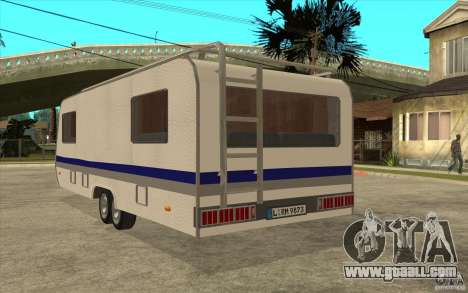 Trailer for the Renault Avantime for GTA San Andreas back left view