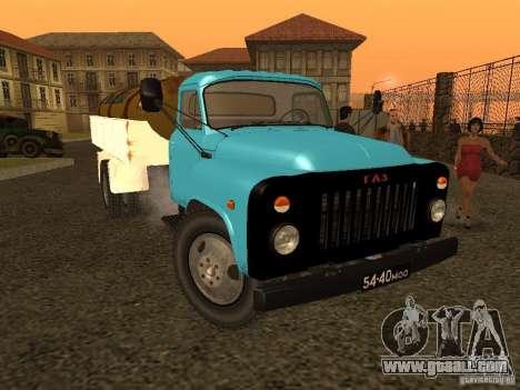 GAZ 53 milk tanker for GTA San Andreas